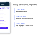 Dealerware Mobile for pickup and delivery